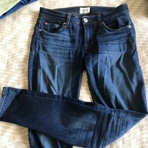 Mid-rise Hudson skinny jeans